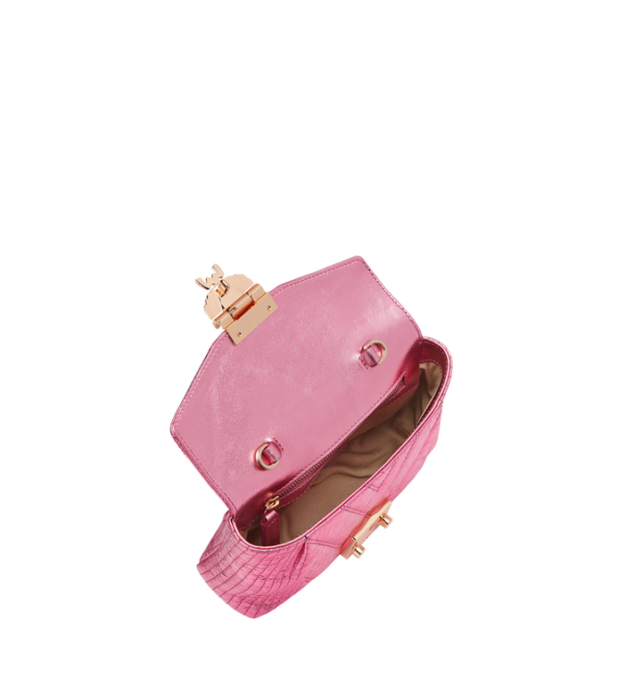 MCM Patricia Belt Bag in Quilted Metallic Leather MWZ8APA73UK001 AlternateView5