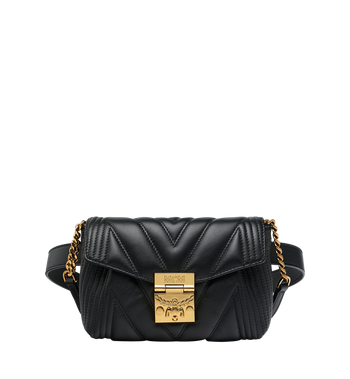 MCM Patricia Belt Bag in Quilted Leather Alternate View