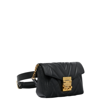MCM Patricia Belt Bag in Quilted Leather Alternate View 2