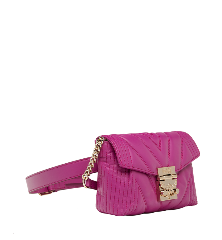 MCM Patricia Belt Bag in Quilted Leather MWZ8APA83UK001 AlternateView2