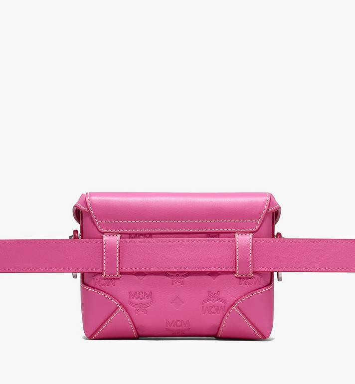 MCM Soft Berlin Belt Bag in Monogram Leather Alternate View 3