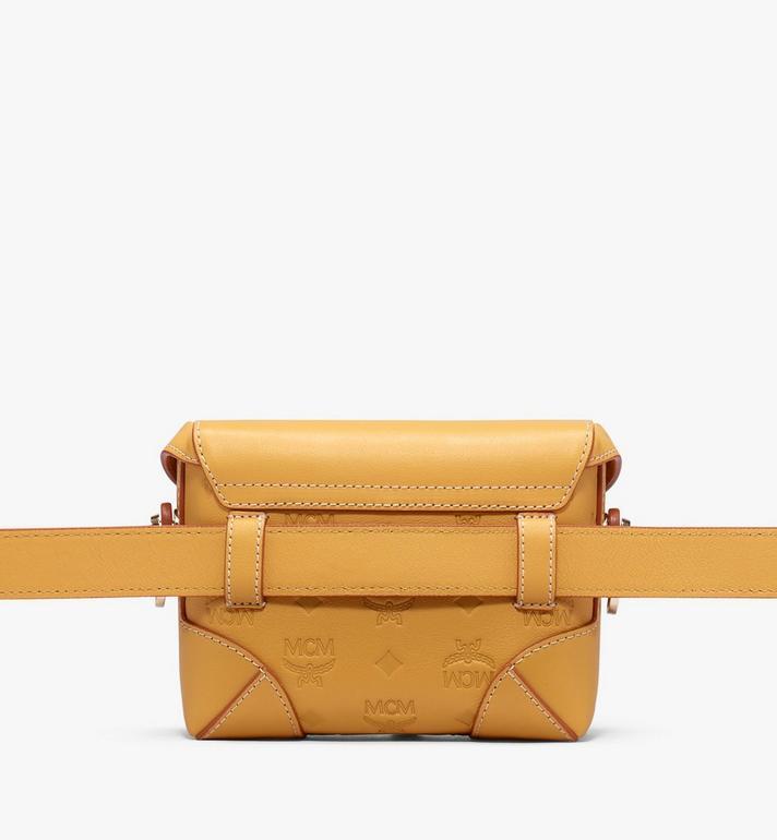 MCM Soft Berlin Belt Bag in Monogram Leather Alternate View 3