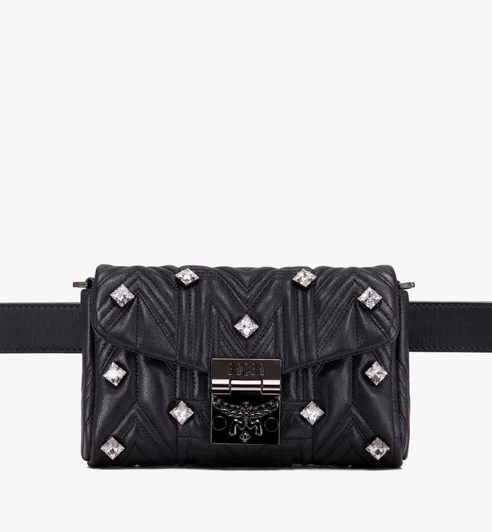 MCM Patricia Belt Bag in Quilted Crystal Leather Alternate View