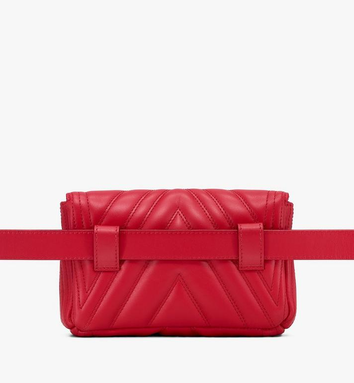 MCM Patricia Belt Bag in Quilted Leather Alternate View 3