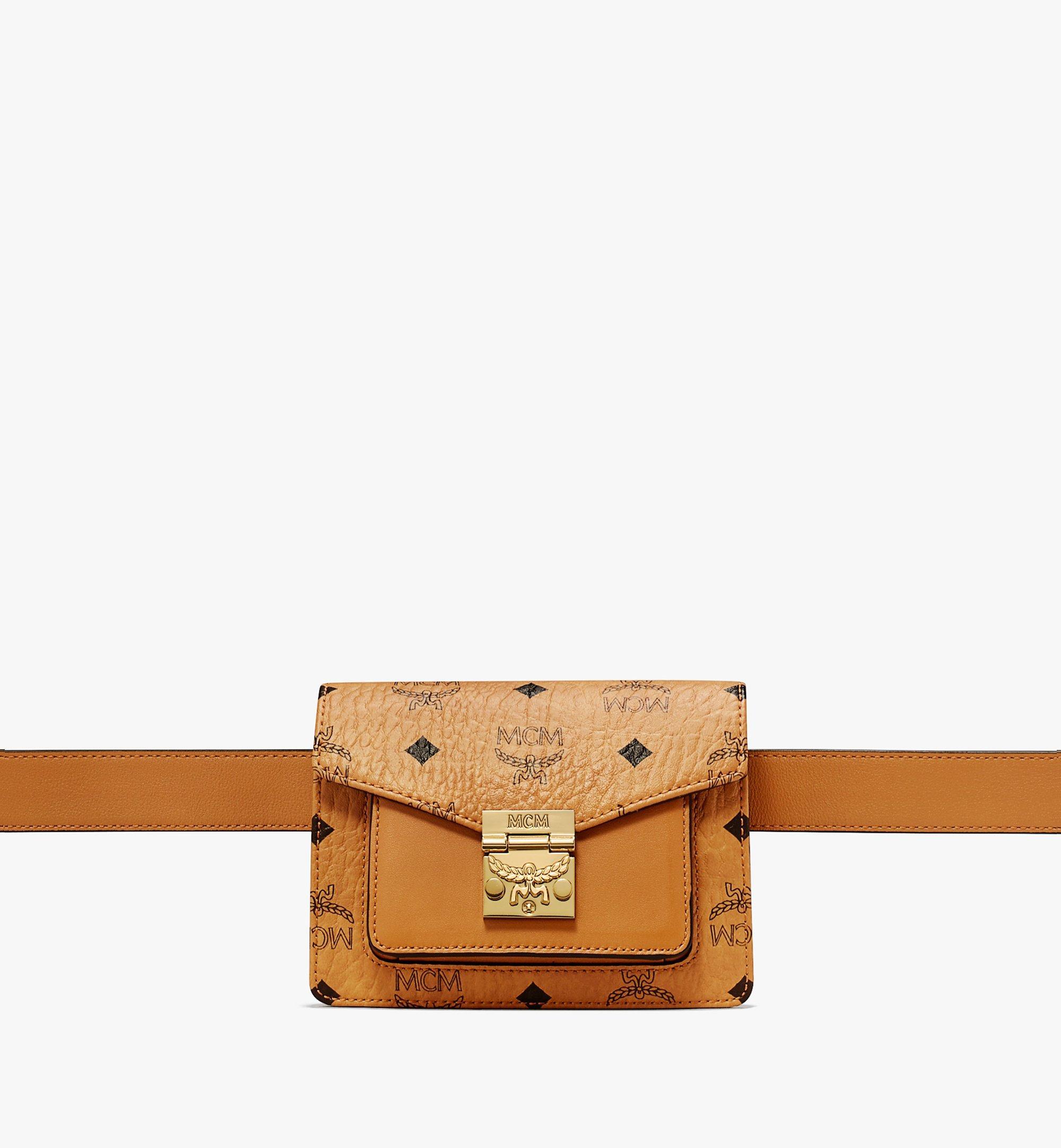 Mini Patricia Belt Bag in Visetos Cognac   MCM® DE