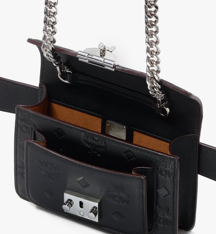 MCM Sac porté à la taille Patricia en cuir monogrammé  MWZ9APA90BK001 Alternate View 4