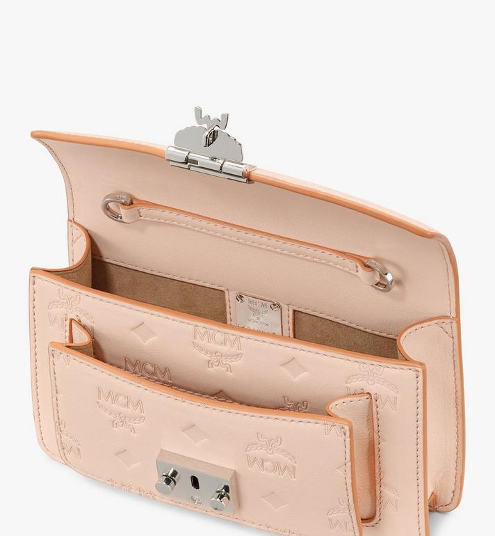 MCM Patricia Belt Bag in Monogram Leather Beige MWZ9APA90II001 Alternate View 4