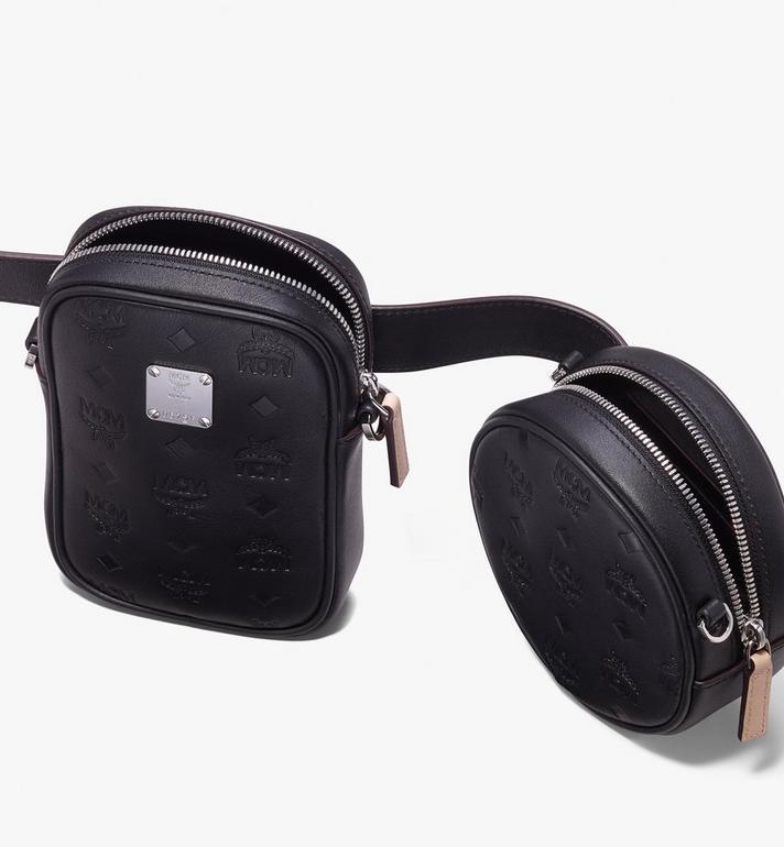 MCM Essential Belt Bag in Monogram Leather Alternate View 4