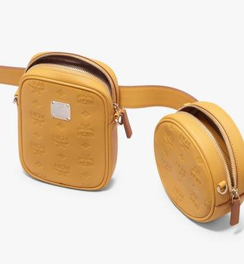 MCM Essential Belt Bag in Monogram Leather Alternate View 5