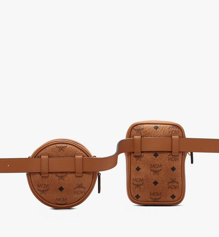 MCM Essential Belt Bag in Visetos Alternate View 2