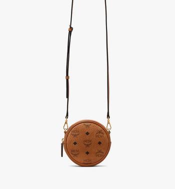 MCM Essential Belt Bag in Visetos Alternate View 3