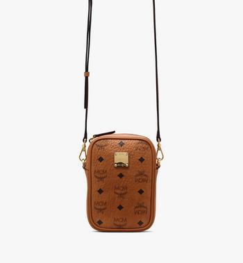 MCM Essential Belt Bag in Visetos Alternate View 4