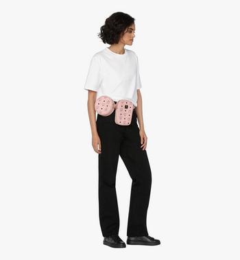 MCM Essential Belt Bag in Visetos Alternate View 6