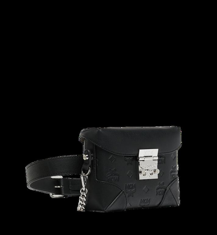 MCM Soft Berlin Belt Bag in Monogram Leather Black MWZ9SBF26BK001 Alternate View 2