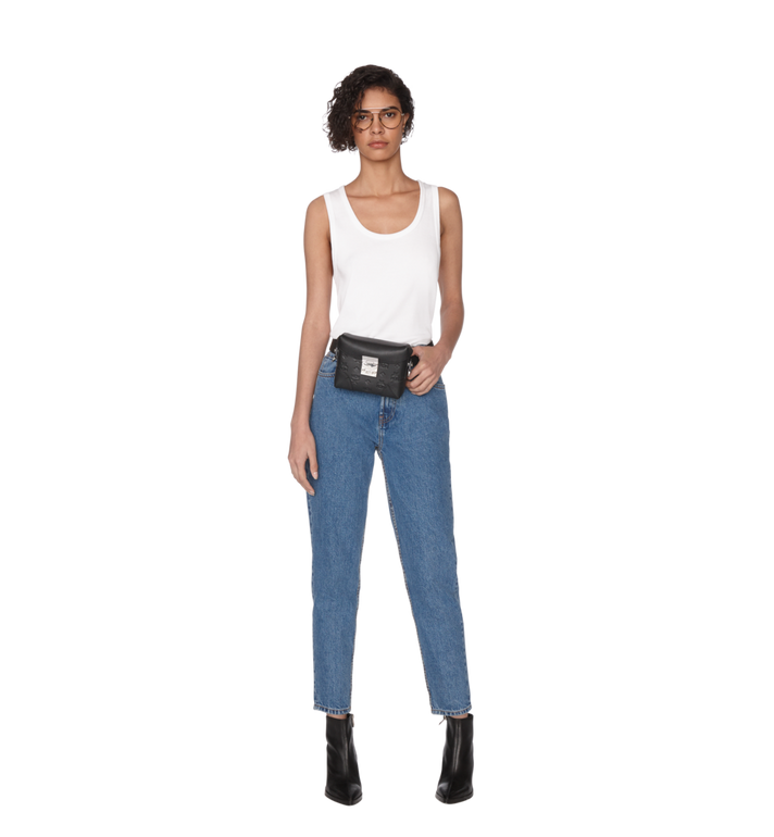 MCM Soft Berlin Belt Bag in Monogram Leather AlternateView6