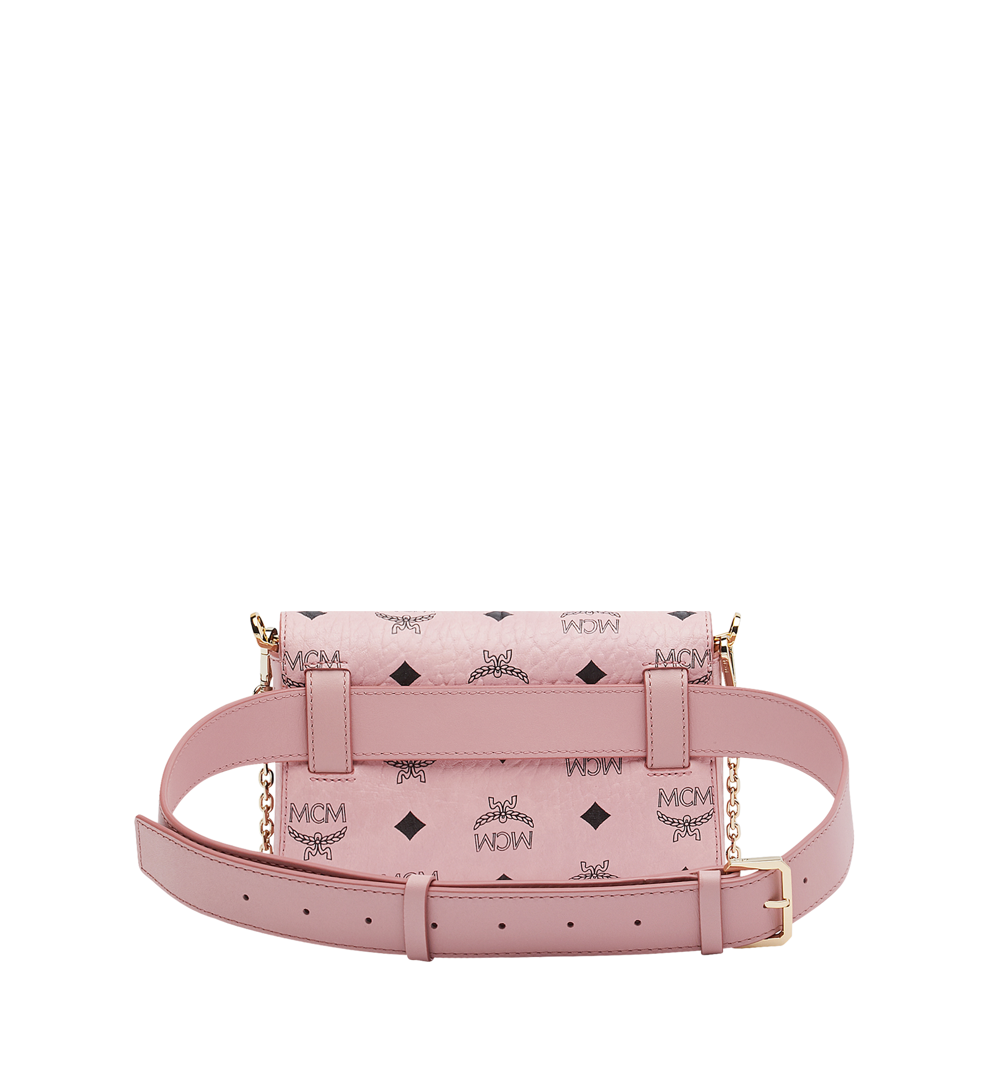 Small Patricia Belt Bag in Visetos Soft Pink | MCM® DE
