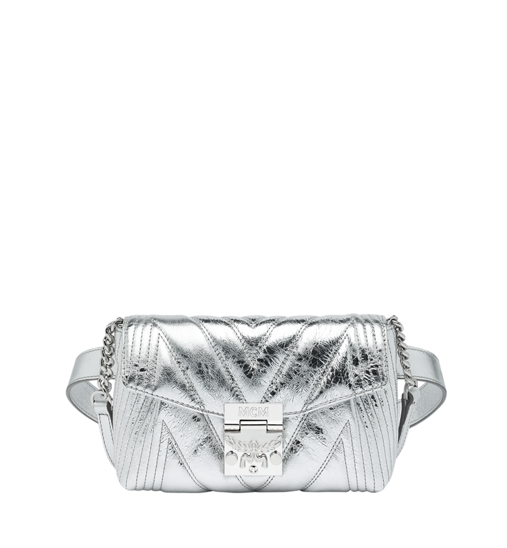 MCM Patricia Belt Bag in Quilted Metallic Leather Alternate View