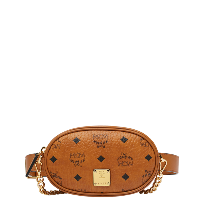 MCM Essential Belt Bag in Original Visetos AlternateView