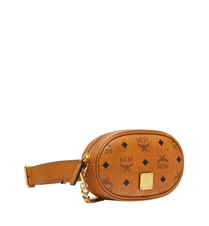 MCM Essential Belt Bag in Original Visetos Alternate View 2