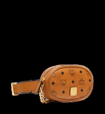 MCM Essential Belt Bag in Original Visetos Alternate View 2