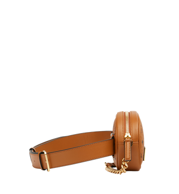 MCM Essential Belt Bag in Original Visetos Alternate View 3