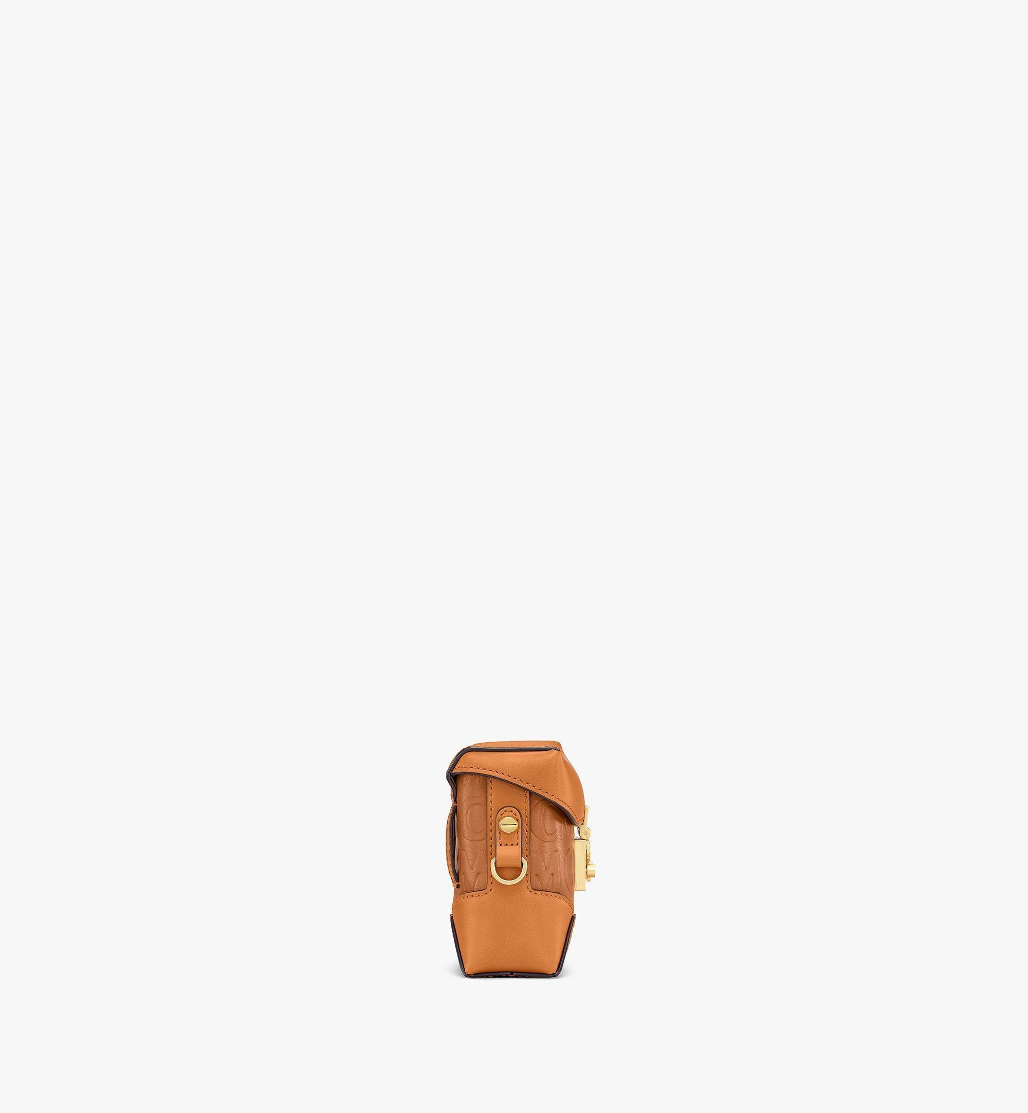 MCM Soft Berlin Belt Bag in MCM Monogram Leather Cognac MWZAABF01CO001 Alternate View 1