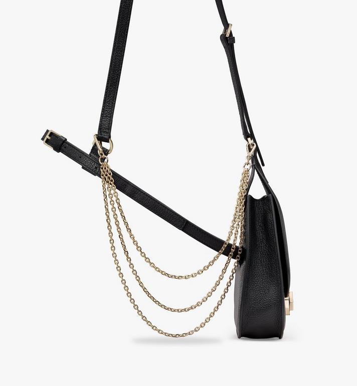 MCM Milano Belt Bag in Goatskin Leather Black MWZASDA02BK001 Alternate View 2