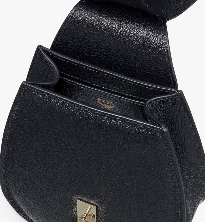 MCM Milano Belt Bag in Goatskin Leather Black MWZASDA02BK001 Alternate View 4