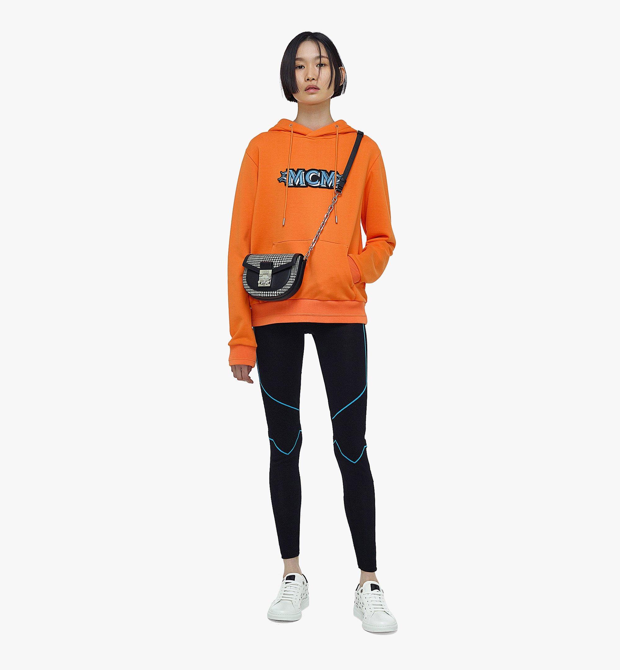 MCM Patricia Belt Bag in Wool Leather Mix Black MWZBAPA01BK001 Alternate View 3