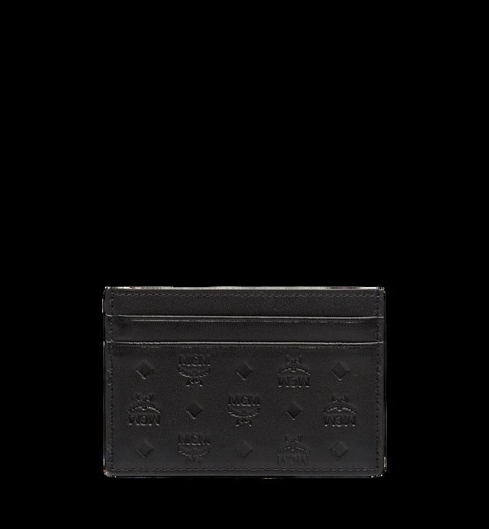 MCM Sigmund Card Case in Monogram Leather Alternate View