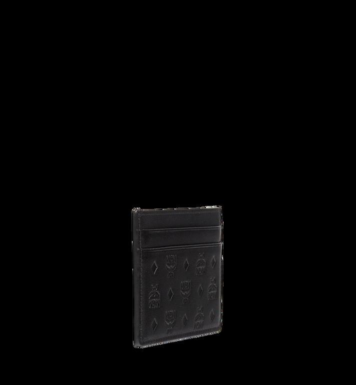 MCM Sigmund Card Case in Monogram Leather Black MXA7AIE26BK001 Alternate View 2