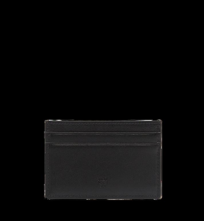 MCM Sigmund Card Case in Monogram Leather Black MXA7AIE26BK001 Alternate View 3