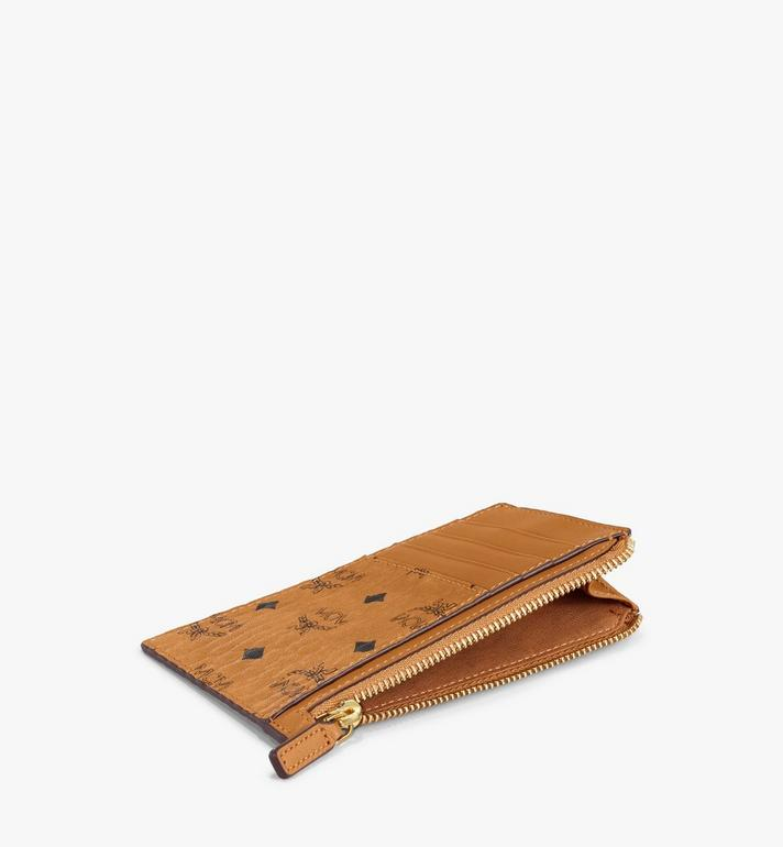 MCM Lanyard Card Holder in Visetos AlternateView3