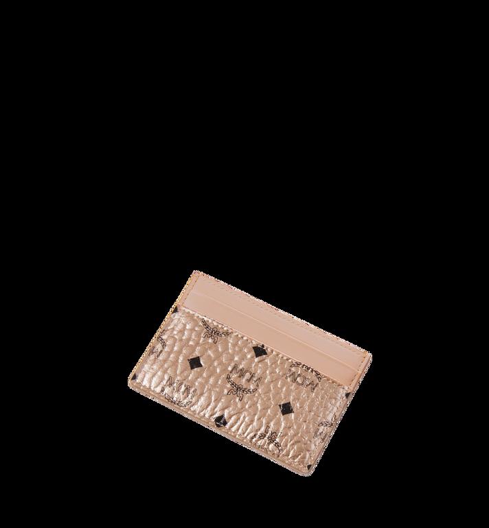 MCM Card Case in Visetos Original Alternate View 4