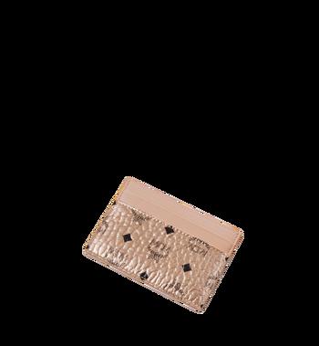 MCM Card Case in Visetos Original MXA8AVI26TC001 AlternateView4
