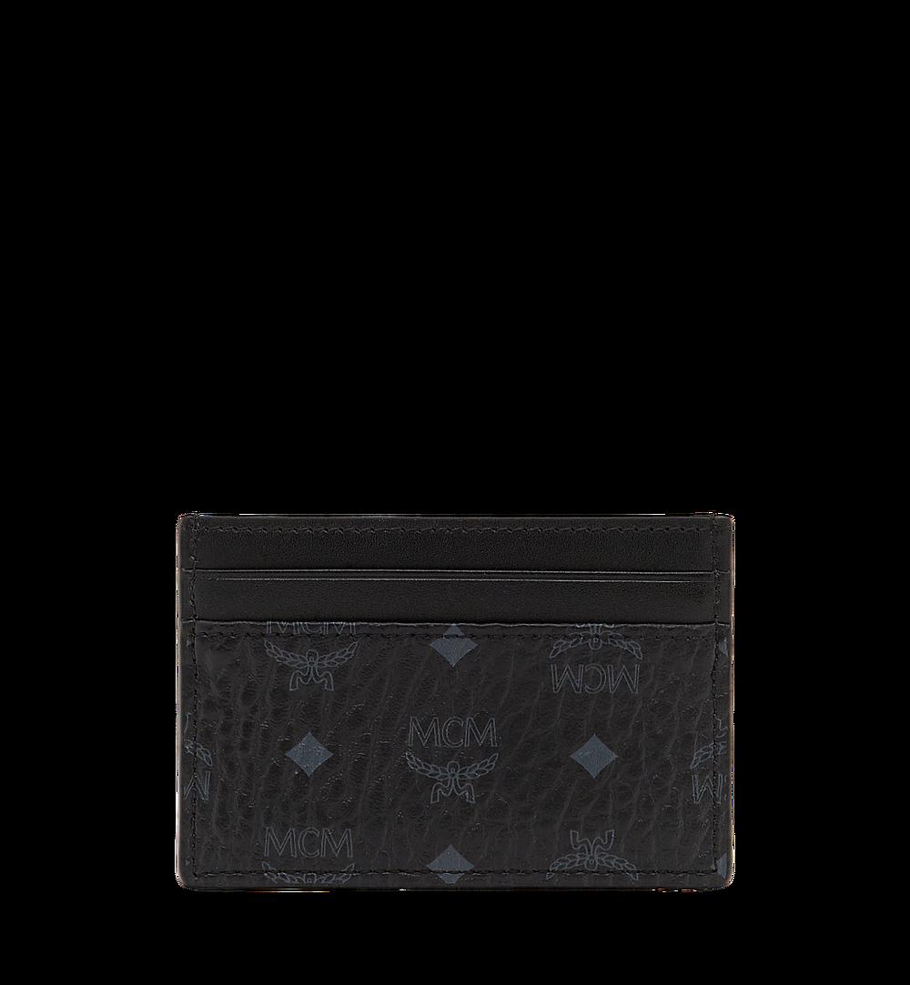 MCM Card Case in Visetos Original Black MXA8SVI26BK001 Alternate View 1