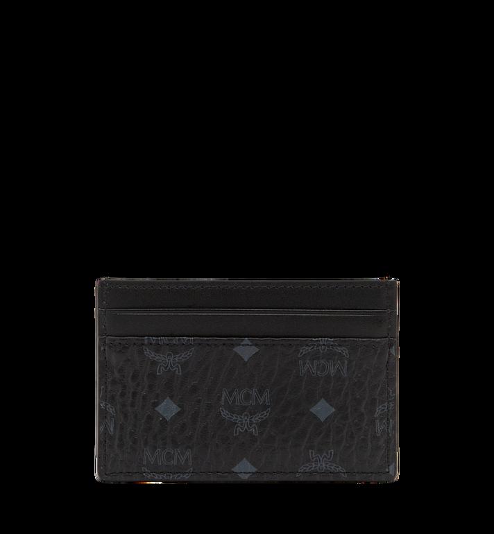 MCM Card Case in Visetos Original MXA8SVI26BK001 AlternateView