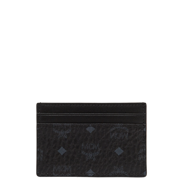 MCM Card Case in Visetos Original MXA8SVI26BK001 AlternateView3