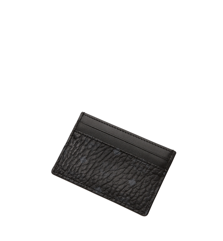 MCM Card Case in Visetos Original Black MXA8SVI26BK001 Alternate View 4