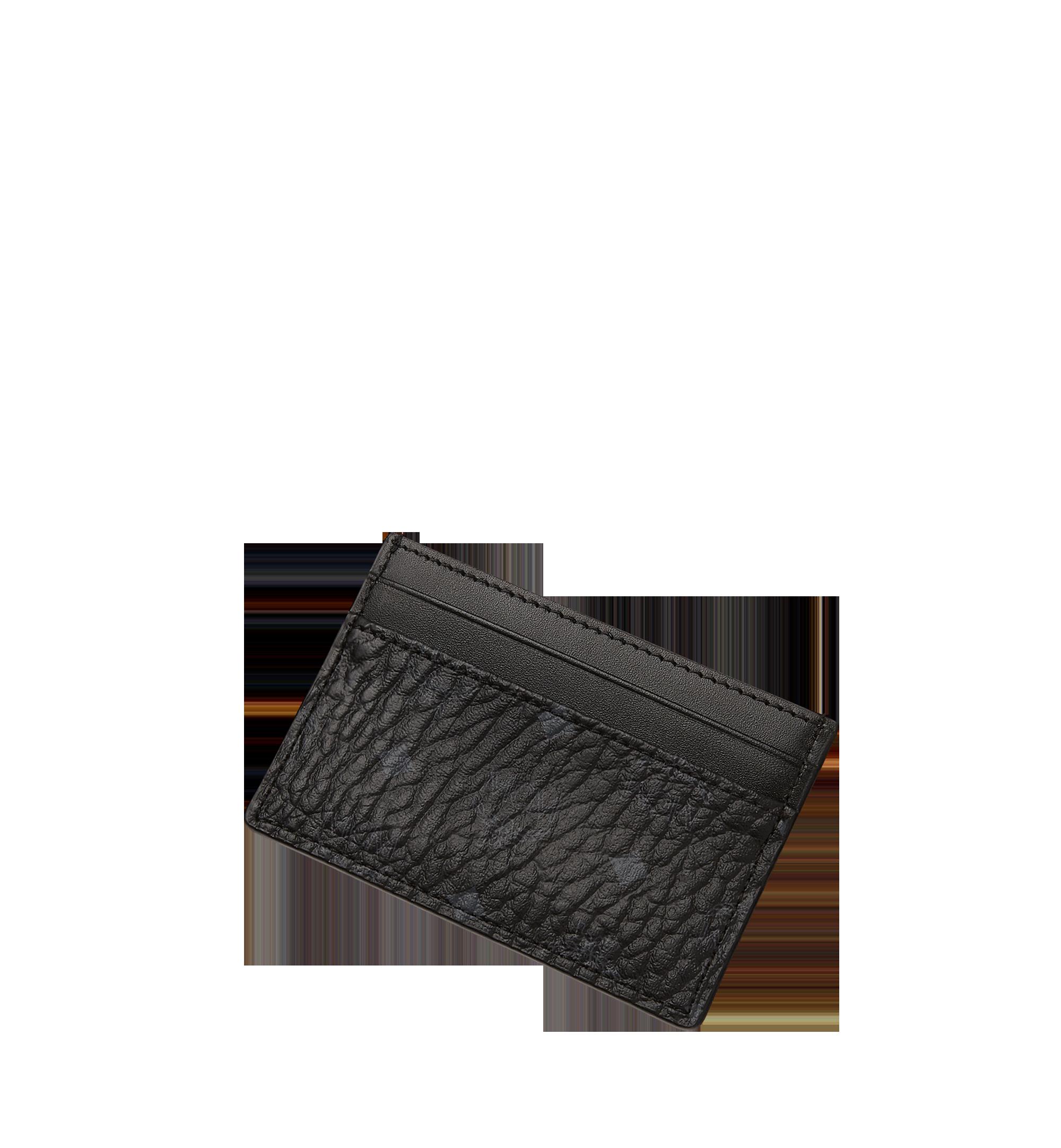 MCM Card Case in Visetos Original Black MXA8SVI26BK001 Alternate View 4