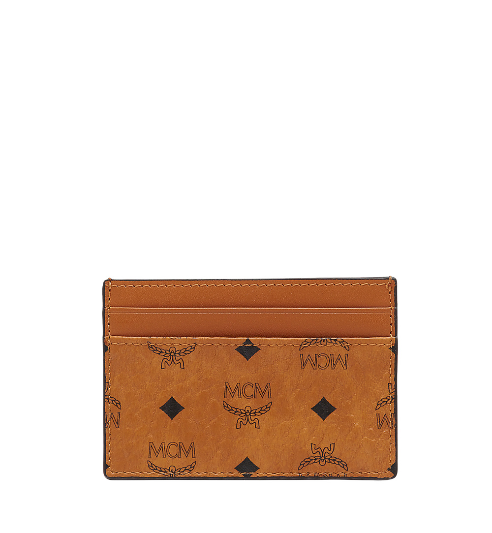 MCM Card Case in Visetos Original Cognac MXA8SVI26CO001 Alternate View 1