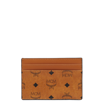 MCM Card Case in Visetos Original Alternate View