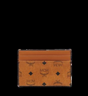 MCM Card Case in Visetos Original MXA8SVI26CO001 AlternateView