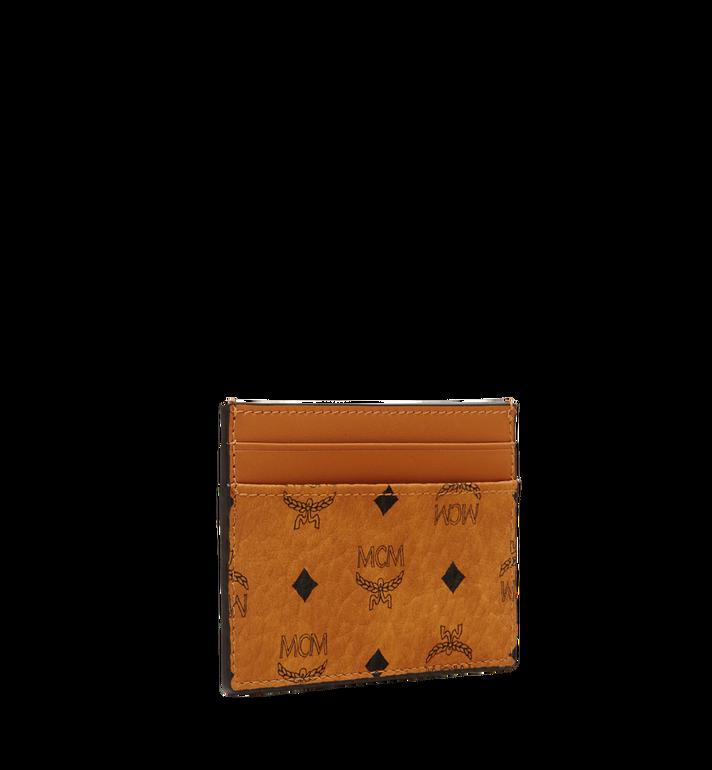 MCM Card Case in Visetos Original Cognac MXA8SVI26CO001 Alternate View 2