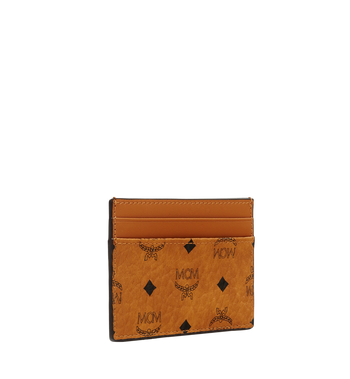 MCM Card Case in Visetos Original Alternate View 2