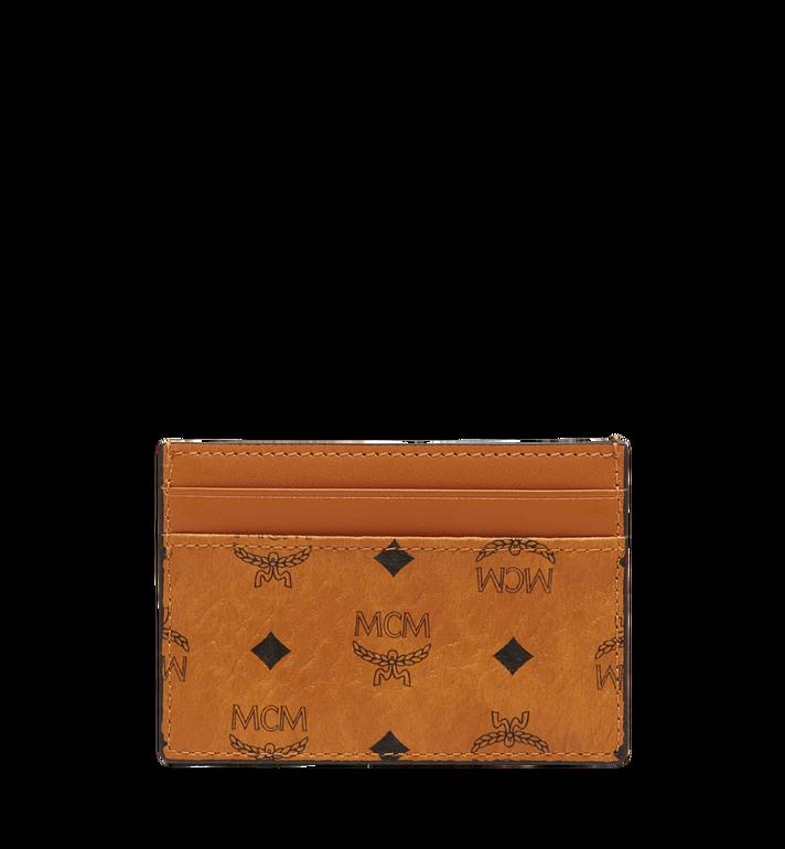MCM 비세토스 오리지널 카드 케이스 Cognac MXA8SVI26CO001 Alternate View 3