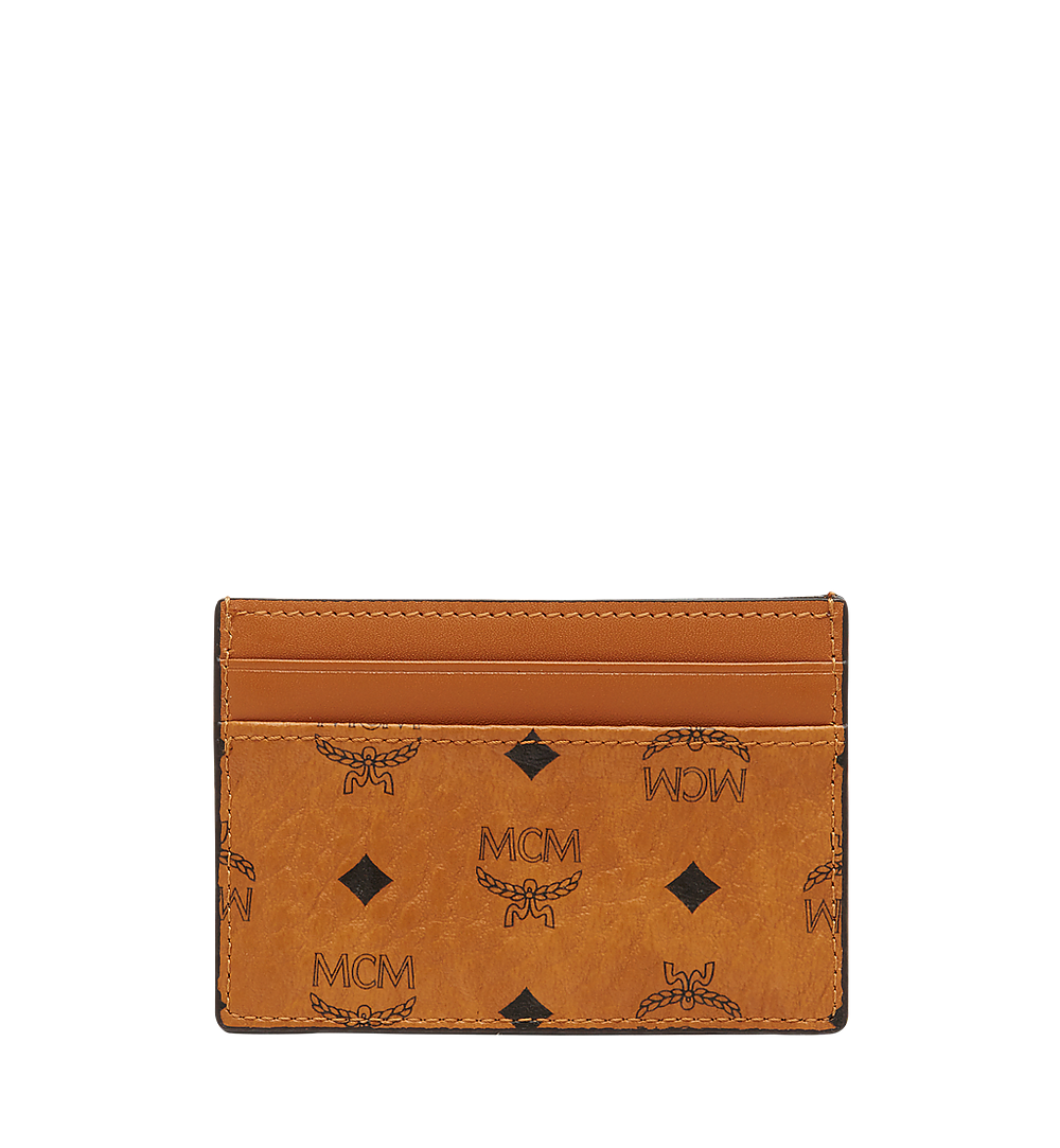MCM Card Case in Visetos Original Cognac MXA8SVI26CO001 Alternate View 2