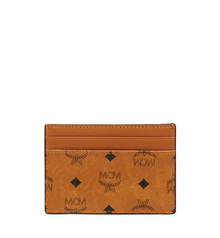 MCM Card Case in Visetos Original Alternate View 3