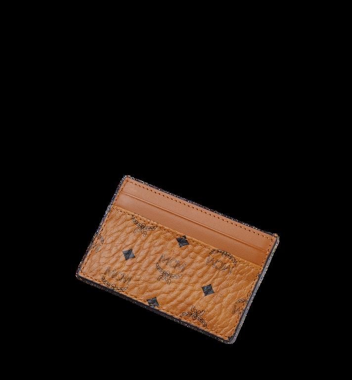 MCM Card Case in Visetos Original Cognac MXA8SVI26CO001 Alternate View 4