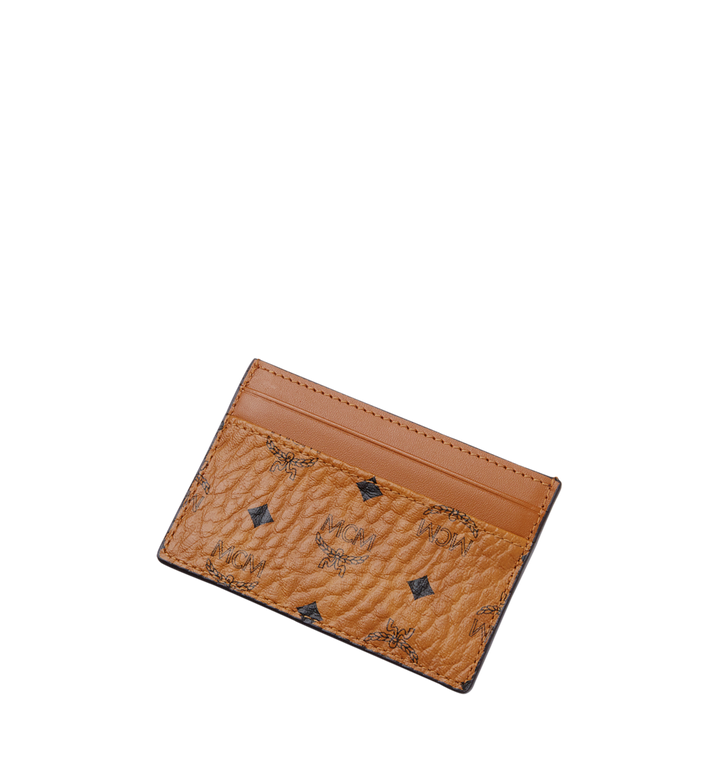 MCM Card Case in Visetos Original Cognac MXA8SVI26CO001 Alternate View 4